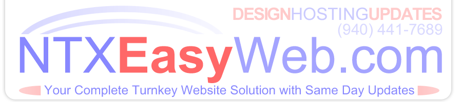 NTX Easy Web - Design, Hosting and Same Day Updates